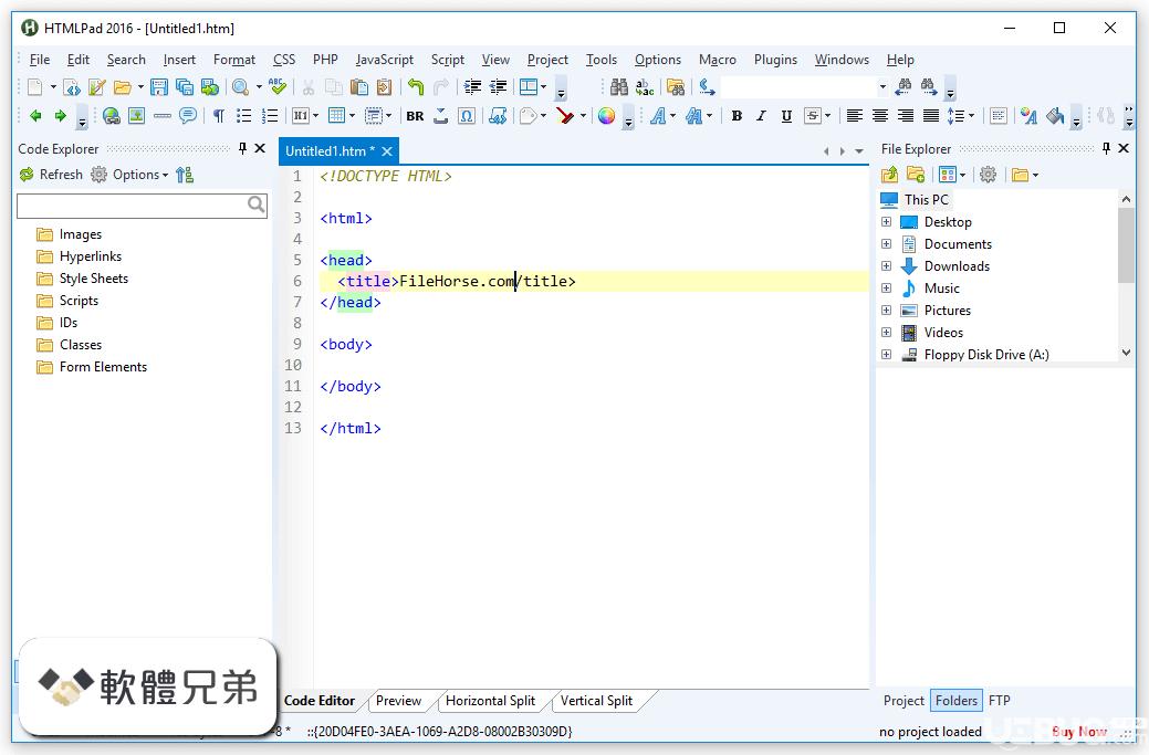 HTMLPad破解版下载