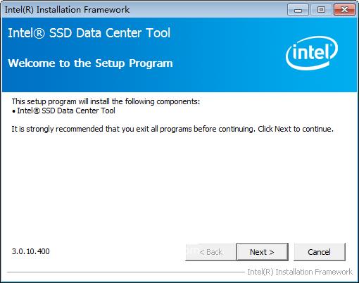 Intel SSD Data Center Tool(英特尔硬盘管理工具)